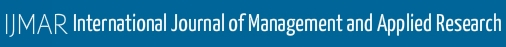 International Journal of Management and Applied Research